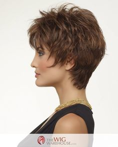 The Kitana by Envy offers fantastic layers, with razor edges that combine to bring you a sassy face-framing wig that is ready to go when you are. The tapered nape of the Kitana wig hugs the neckline s