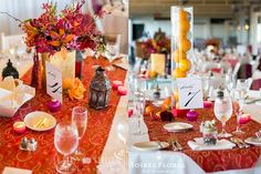 Throw Back Thursday - A Moroccan-Inspired Wedding at the White Elephant Hotel by Soiree Floral & Ruby Shoes Photography | Gilded ceramic vases with lush and colorful arrangements on the tables. Floral Design: Soiree Floral - www.soireefloral.com Photography: Ruby Shoes Photography Venue: The White Elephant Hotel - www.whiteelephanthotel.com #soireefloral #nantucketwedding