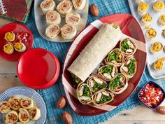With our best rolled and wrapped recipes for game day, you'll be headed for victory.