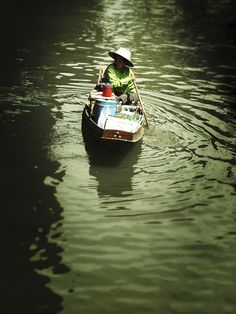 floatingmarket_01   by IanBrewer