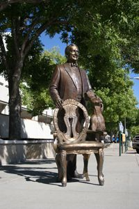 Warren G. Harding ~Rapid City, SD, the City of Presidents Presidents Wives, American Presidents, Black Presidents, Presidential Portraits, Presidential History, Bronze Sculpture, Sculpture Art, Garden Sculpture, Warren G