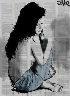 """""""jeans ."""", by Loui Jover."""