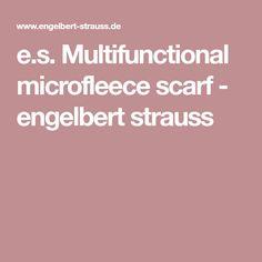 e.s. Multifunctional microfleece scarf - engelbert strauss