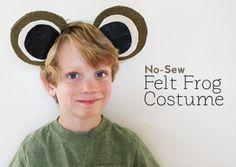 DIY No-Sew Costume: Frog Costume – Calculating Infinity