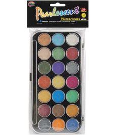 Pearlescent Watercolor Set-21 Colors