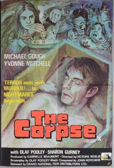 the CORPSE (1971) aka CRUCIBLE OF HORROR