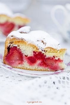 The easiest cake in the world Polish Desserts, Polish Recipes, Polish Food, Fabulous Foods, Confectionery, Sweet Bread, Let Them Eat Cake, Google Translate, Baked Goods