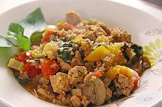 Quinoa Jambalaya, ein leckeres Rezept aus der Kategorie Gemüse. Bewertungen: 69. Durchschnitt: Ø 4,2.