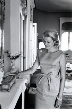 Grace Kelly Grace Kelly, princess of Monaco Fournol Charlotte Casiraghi, Andrea Casiraghi, Grace Kelly Mode, Grace Kelly Style, Look Vintage, Vintage Beauty, Vintage Fashion, Classic Hollywood, Old Hollywood