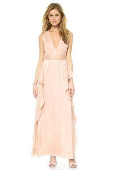 Peach Bridesmaid Dresses | Brides.com