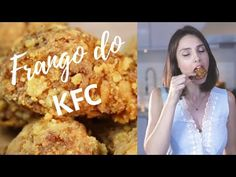 FRANGO FRITO DO KFC - crocante, sequinho, perfeito! - YouTube Youtube, Marinades For Chicken, Crispy Fried Chicken, Corn Flakes, Millet Flour, Sandwich Shops, Youtubers, Youtube Movies