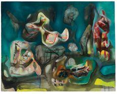 Roberto Matta (Chile 1911-2002) Morphologie Psychologique (1938-1938) oil on canvas 73 x 91.2 cm