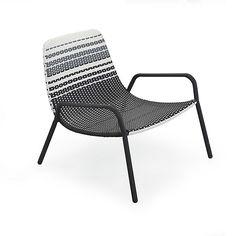 Fauteuil de jardin en aluminium gris anthracite   ++ déco idées ...