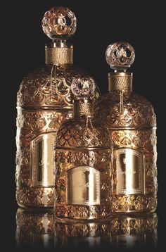 vintage Guerlain perfume bottles #AWomansPraugeative #OPIEuroCentrale
