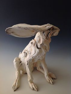 Hare sculpture by Mary Philpott