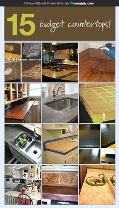 Upgrade your countertops on a budget!