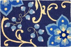 Winterthur Doormat-JellyBean Rug