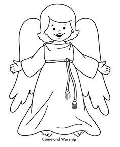 Free Printable Christmas Coloring Sheets of a Doll