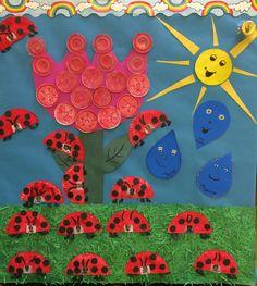 Spring school door decoration!