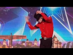 Britain's Got More Talent 2016 S10E02 Rory 'Michael' Jackson Dance Tribute Full Audition - YouTube