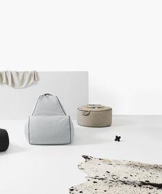 Tulum Indoor Bean Bag Collection - high quality, stylish, versatile lounge furniture #putlifeonpause #lujo #designerfurniture