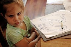 Have a cranky kid? Some crafts to brighten spirits- and help the time pass quickly! ;)