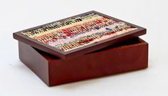 Fabric Inlay - Med | Giftware | ASHANTI Decorative Boxes, Fabric, Home Decor, Tejido, Tela, Decoration Home, Room Decor, Cloths, Fabrics