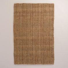 Natural Basket Weave Jute Teppich – 9 'x von World Market – jute Rugs living room Floor Runners, Rug World, Affordable Rugs, Natural Fiber Rugs, Natural Texture, Natural Rug, Natural Wood, Farmhouse Style Kitchen, Modern Farmhouse