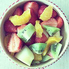 MELI MELO DE FRUITS AU SIROP DE THÉ A LA MENTHE