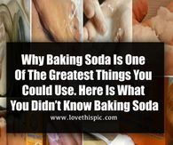 Why Baking Soda Is One Of The Greatest Things You Could Use. Here Is What You Didn't Know Baking Soda