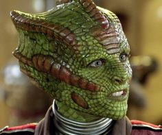 Neve McIntosh as Rastac, a reptilian Silurian from Doctor Who