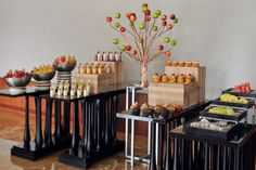 Energize attendees with a vibrant assortment of meeting break snacks.