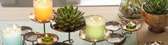 Spring Home Decor is easy to accomplish with PartyLite! Lotus, Candles Online, Xmas Dinner, Smoothie Drinks, Smoothies, Spring Home Decor, Frozen Yogurt, Sorbet, Alcoholic Drinks