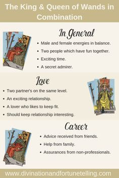 """One of my FAQs is, """"How often should I have a Tarot Card reading?"""" There is no general answer. King Of Wands, Tarot Cards For Beginners, Tarot Card Spreads, Tarot Astrology, Oracle Tarot, Tarot Card Meanings, Cartomancy, Queen, Card Reading"""