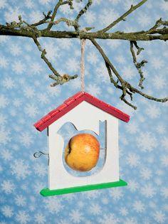 Mangeoire à oiseaux 2D à décorer