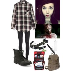 """""""The Walking Dead Outfit #3"""" by scenequeen10000 on Polyvore"""