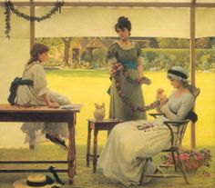 George Dunlop Leslie (1835 – 1921, English)
