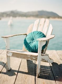 Wooden Deck Chair X2 or just one would do for now in white so I can paint it! Or bright pink or jade like the round table.