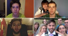 Canadian Takes a Selfie Every Day From Age 12 To The Day Of His Wedding