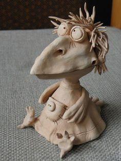 Статуэтки ручной работы. Ярмарка Мастеров - ручная работа. Купить ворона керамическая, ворона керамика, ворона из глины. Handmade. Ворона: