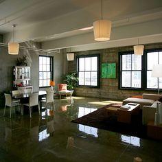 cool loft space ...