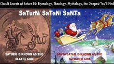 Occult Secrets of Saturn EL: Etymology, Theology, Symbolism, the Deepest. Occult Symbols, Cognitive Dissonance, Capricorn And Aquarius, Knowledge And Wisdom, Armor Of God, Flesh And Blood, Try To Remember, Gods Plan, Satan
