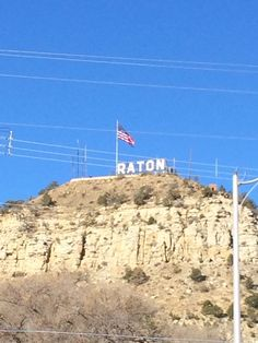 Raton, NM, stopped here on trip back from SLC to FAY after attending the Mormon conference in Salt Lake in 1972.
