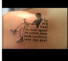 Great Gatsby Tattoo