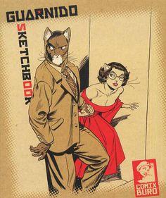 Sketchbook Guarnido - (Juanjo Guarnido) - Art-illustration [BDNET.COM]