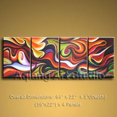 Modern Contemporary Abstract Oil Painting Wall Art Work Home Decor Canvas BoYi $138.00 . More paintings available from eBay store http://stores.ebay.com/Oriental-Arts-And-Crafts/