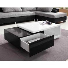 sean-table-basse-noir-blanc-high-gloss