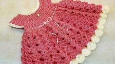 Strawberry Shortcake Baby Dress 0-6 months - YouTube Video
