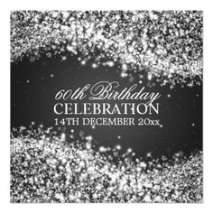 Elegant 60th Birthday Party Sparkling Wave Black Personalized Invite We provide you all shopping site and all informations in our go to store link. You will see low prices onHow to          Elegant 60th Birthday Party Sparkling Wave Black Personalized Invite please follow the link to...