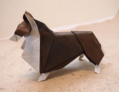Awesome Origami Art to Make Your Day Cool | The Stuff Makes Me Happy, Collie